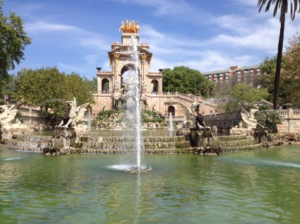 Parques y jardines en barcelona for Parques de barcelona